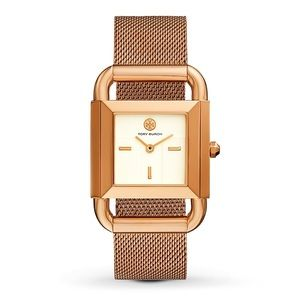 Tory Burch Phipps Rose Gold Tone Watch